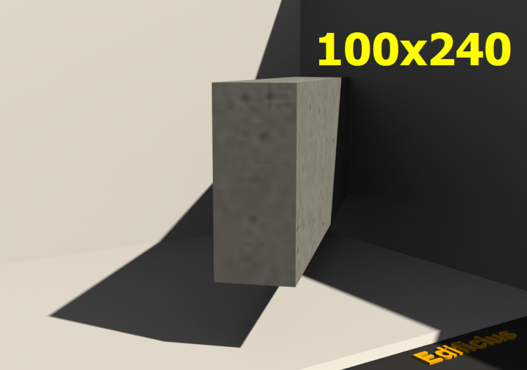 3D Sections - 100x240 - ACCA software