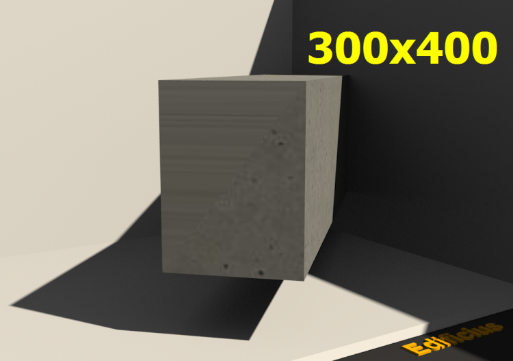 3D Sections - 300x400 - ACCA software