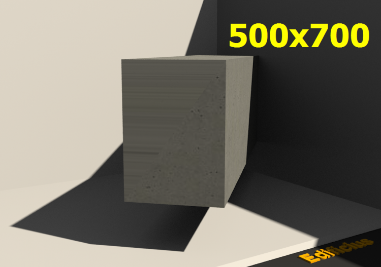 3D Sections - 500x700 - ACCA software