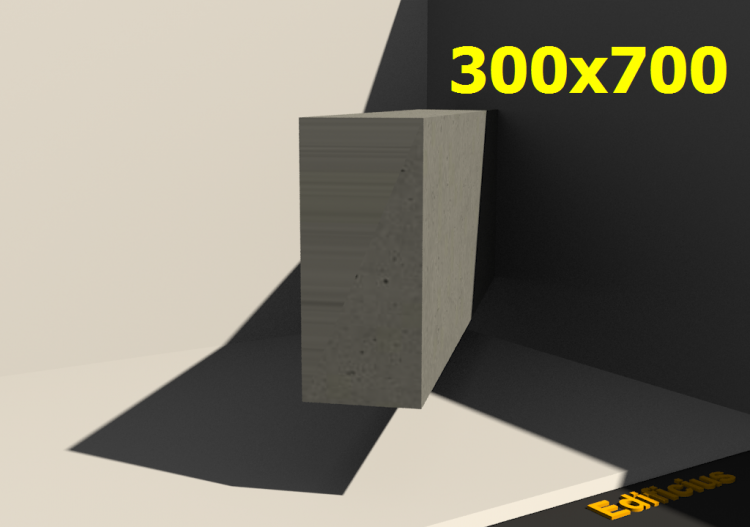 3D Sections - 300x700 - ACCA software