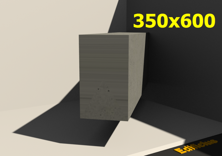 3D Sections - 350x600 - ACCA software