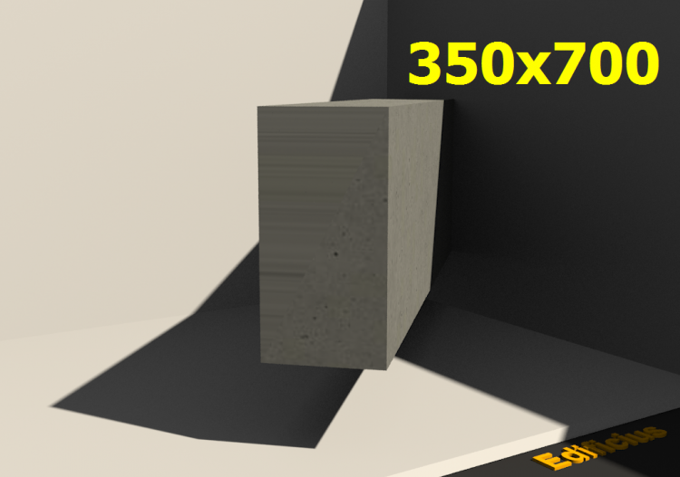 3D Sections - 350x700 - ACCA software