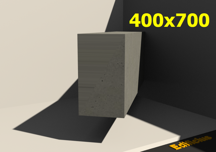 3D Sections - 400x700 - ACCA software