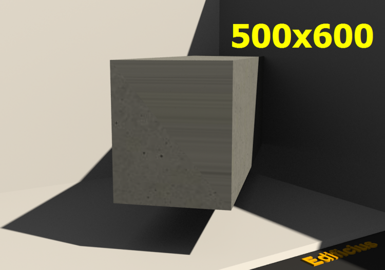 3D Sections - 500x600 - ACCA software