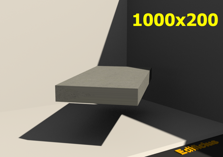 3D Sections - 1000x200 - ACCA software