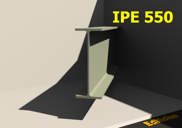 3D Profiles - IPE 550 - ACCA software