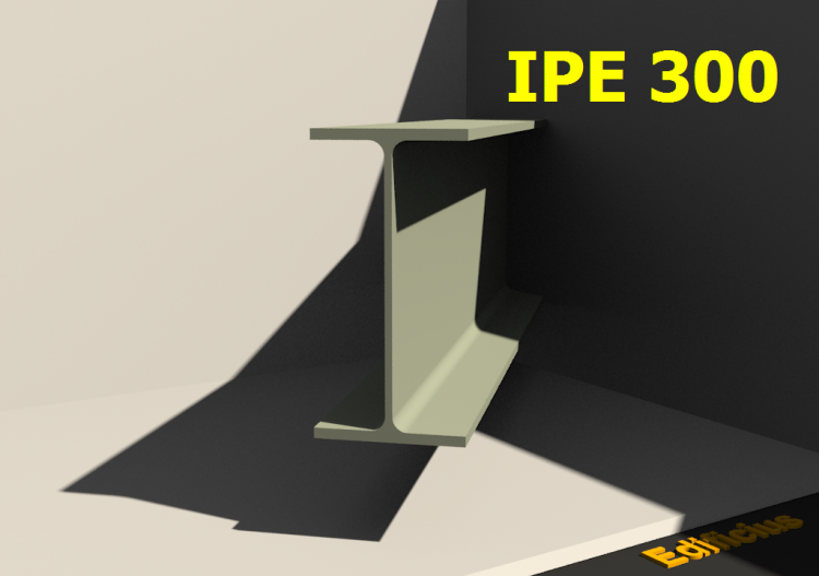 3D Profiles - IPE 300 - ACCA software