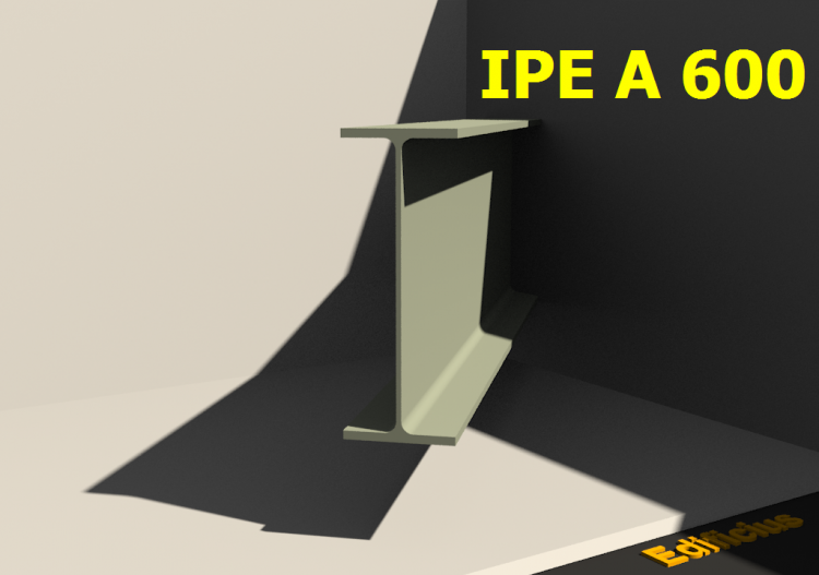 3D Profiles - IPE A 600 - ACCA software