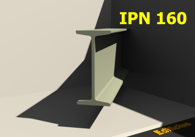 3D Profiles - IPN 160 - ACCA software