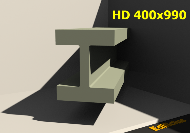 3D Profile - HD 400x990 - ACCA software