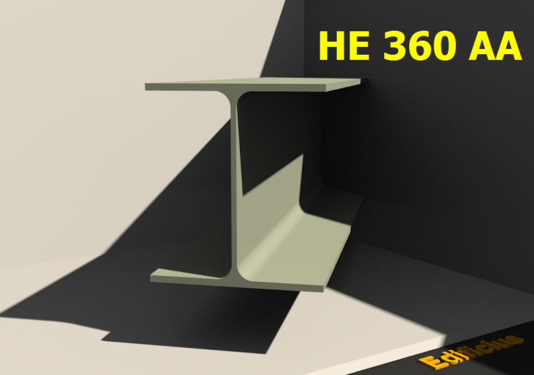 3D Profiles - HE 360 AA - ACCA software