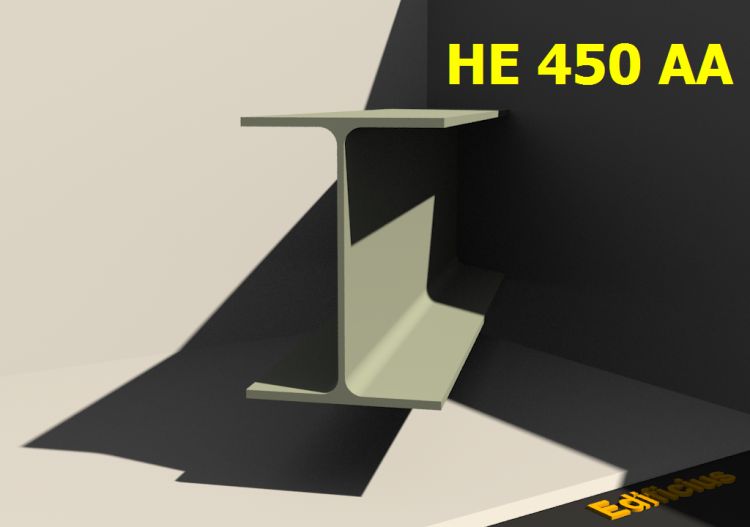 Perfilados 3D - HE 450 AA - ACCA software