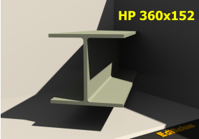 3D Profile - HP 360x152