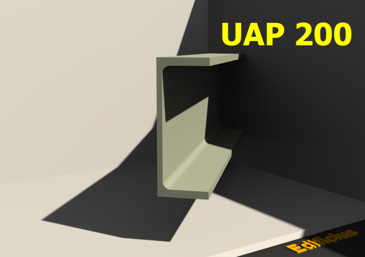 3D Profile - UAP 200 - ACCA software
