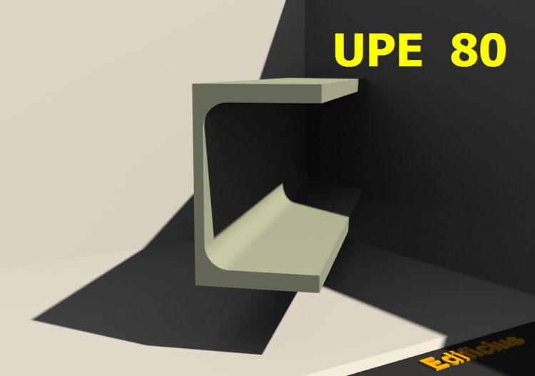 3D Profile - UPE 80 - ACCA software