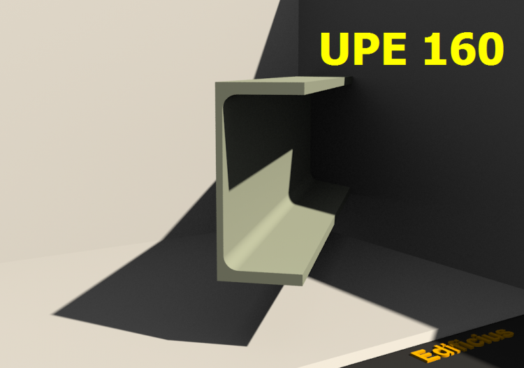 3D Profiles - UPE 160 - ACCA software