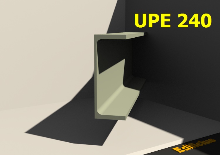 3D Profiles - UPE 240 - ACCA software