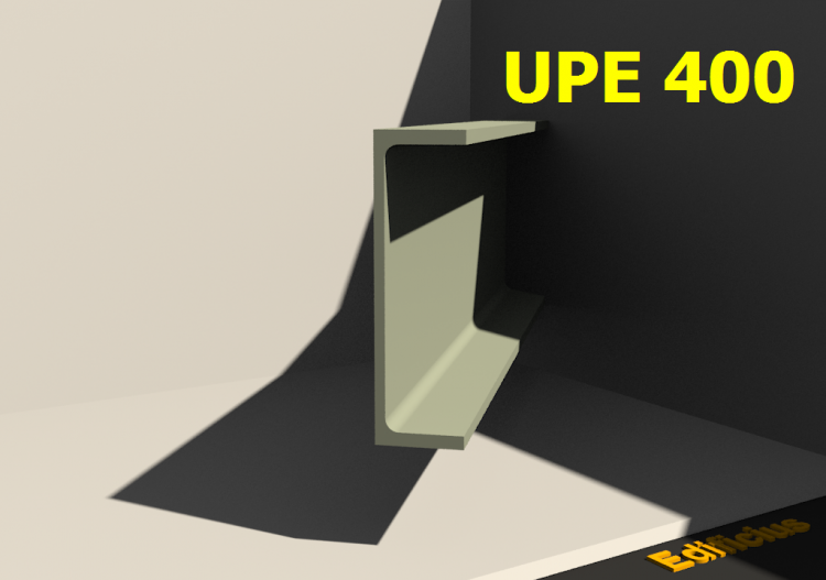 3D Profile - UPE 400 - ACCA software