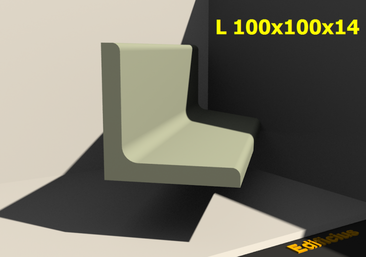 L 100x100x14 - ACCA software