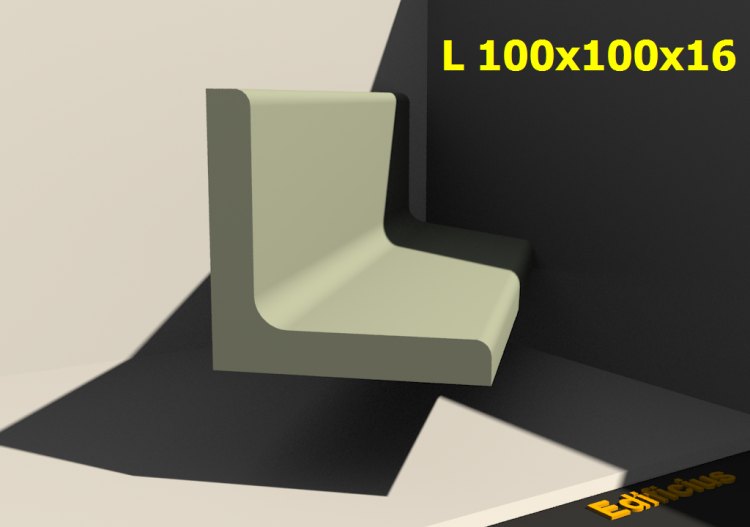 L 100x100x16 - ACCA software