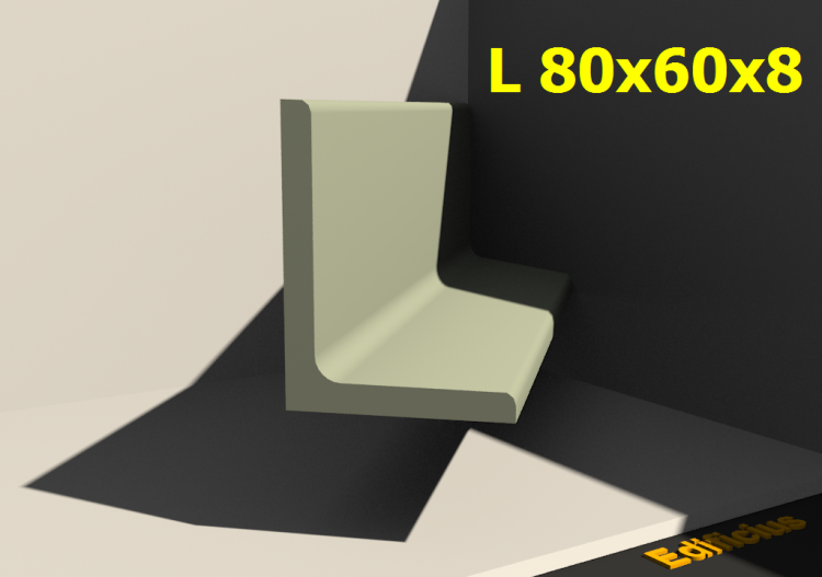 L 80x60x8 - ACCA software