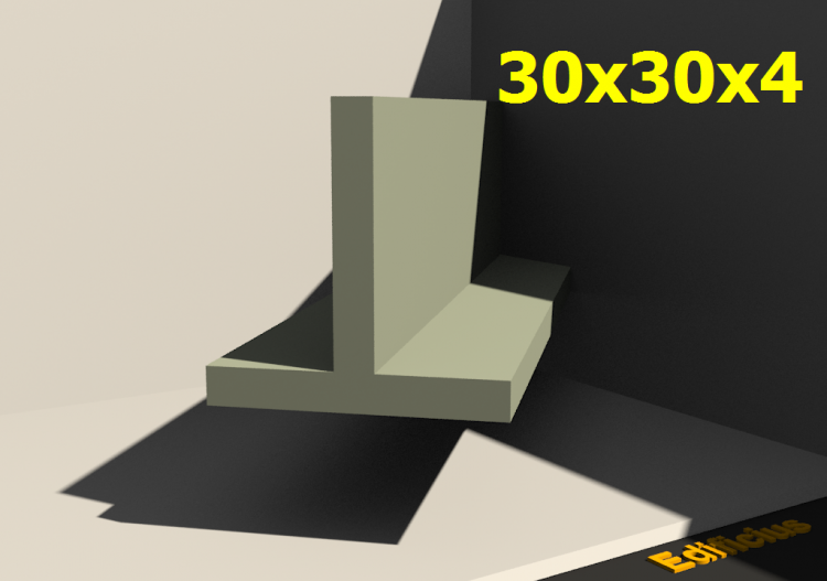 3D Profiles - 30x30x4 - ACCA software