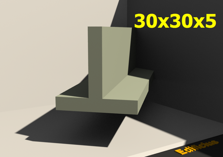 3D Profiles - 30x30x5 - ACCA software