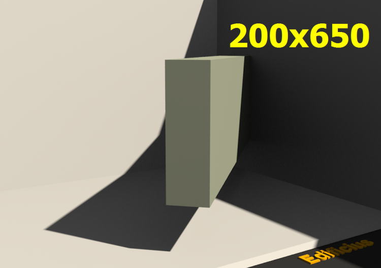 Perfilados 3D - 200x650 - ACCA software