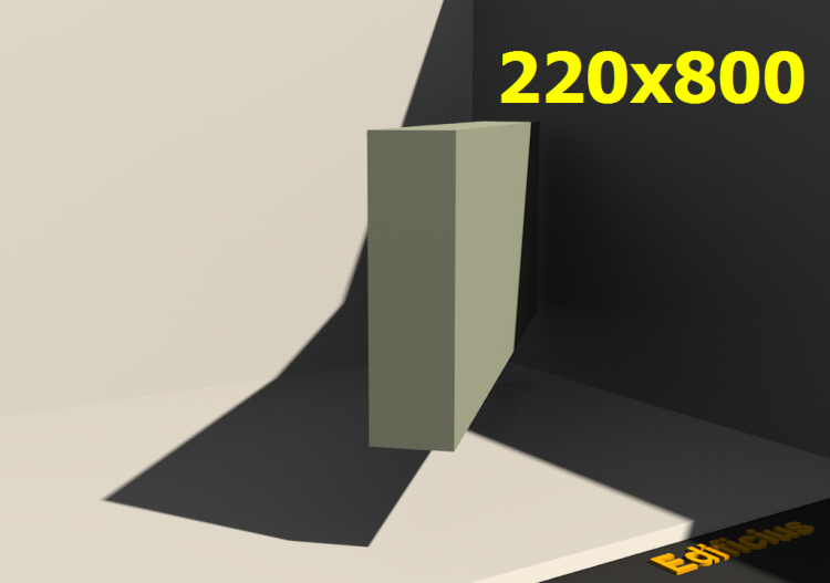 3D Profiles - 220x800 - ACCA software