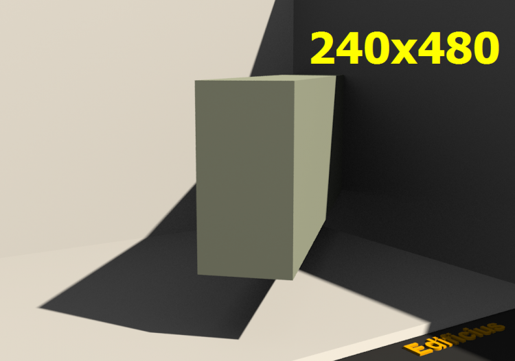 Perfilados 3D - 240x480 - ACCA software