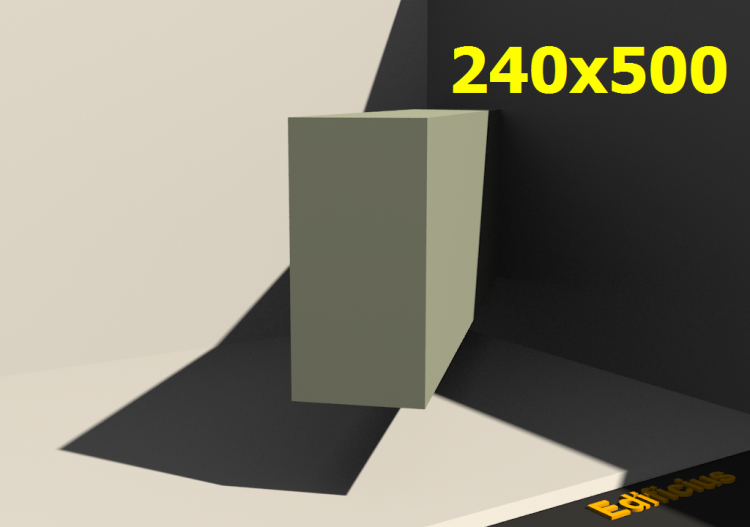 Perfilados 3D - 240x500 - ACCA software