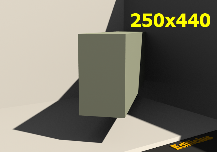 3D Profile - 250x440 - ACCA software