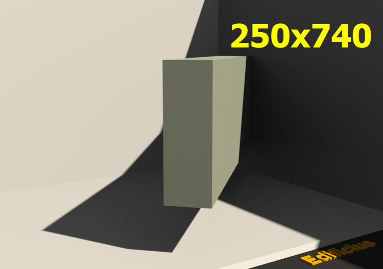 Perfilados 3D - 250x740 - ACCA software