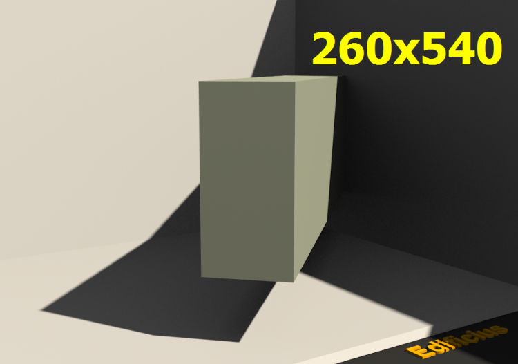 3D Profiles - 260x540 - ACCA software