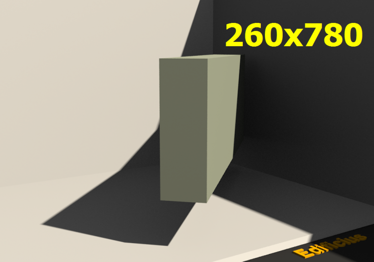 3D Profile - 260x780 - ACCA software