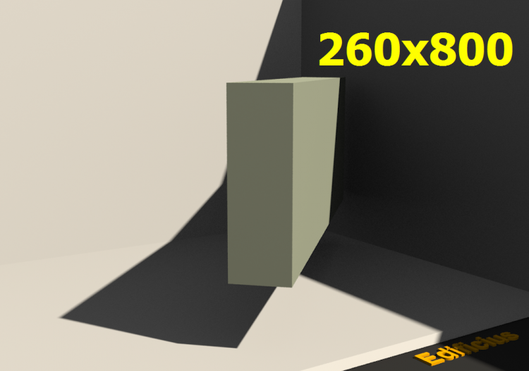3D Profile - 260x800 - ACCA software