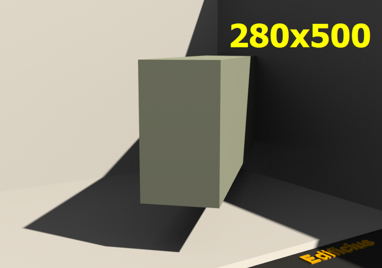 3D Profile - 280x500 - ACCA software