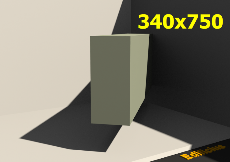 3D Profile - 340x750 - ACCA software