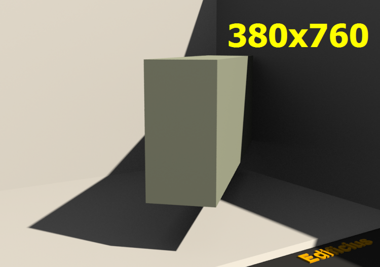 3D Profile - 380x760 - ACCA software