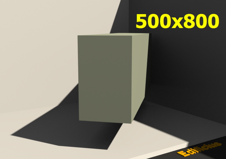 Perfilados 3D - 500x800 - ACCA software