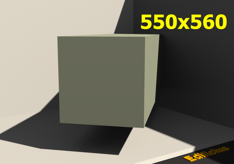 3D Profile - 550.0x560.0 - ACCA software
