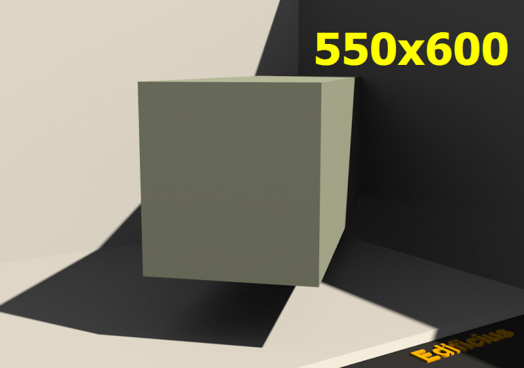 3D Profile - 550.0x600.0 - ACCA software