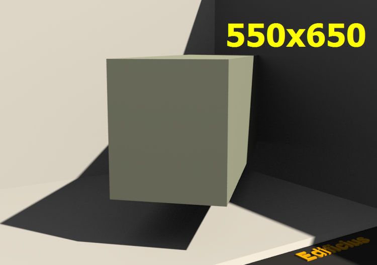 3D Profile - 550.0x650.0 - ACCA software