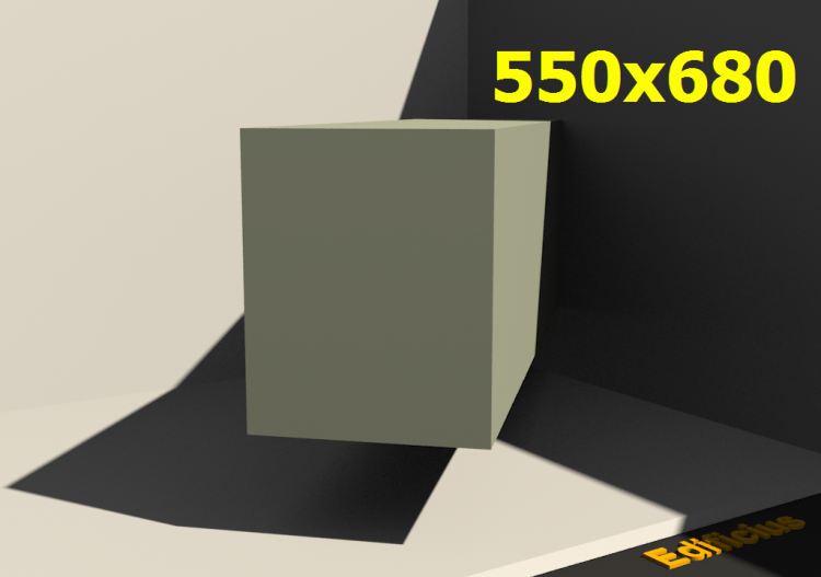3D Profile - 550.0x680.0 - ACCA software