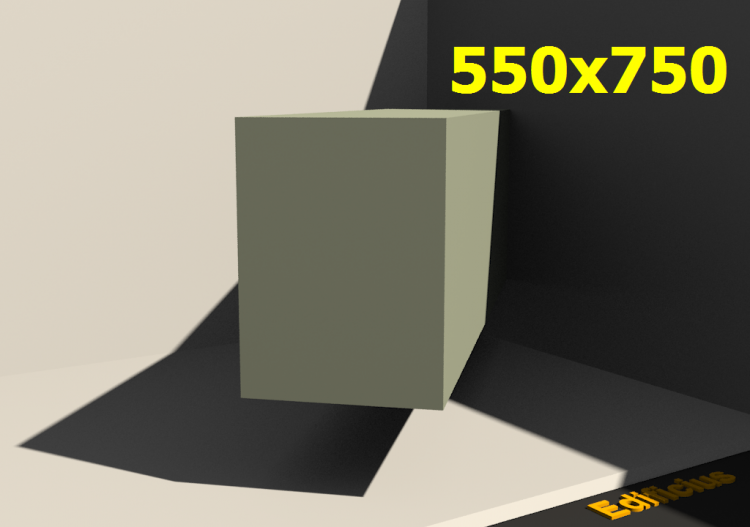 3D Profile - 550.0x750.0 - ACCA software