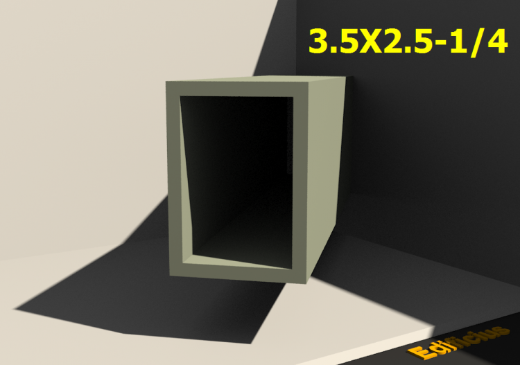 Perfilados 3D - 3.5X2.5-1/4 - ACCA software