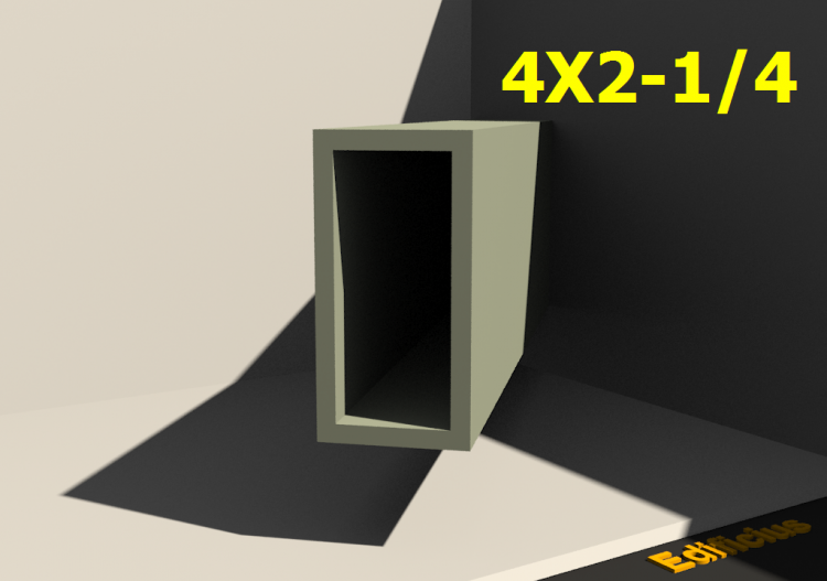 3D Profiles - 4X2-1/4 - ACCA software