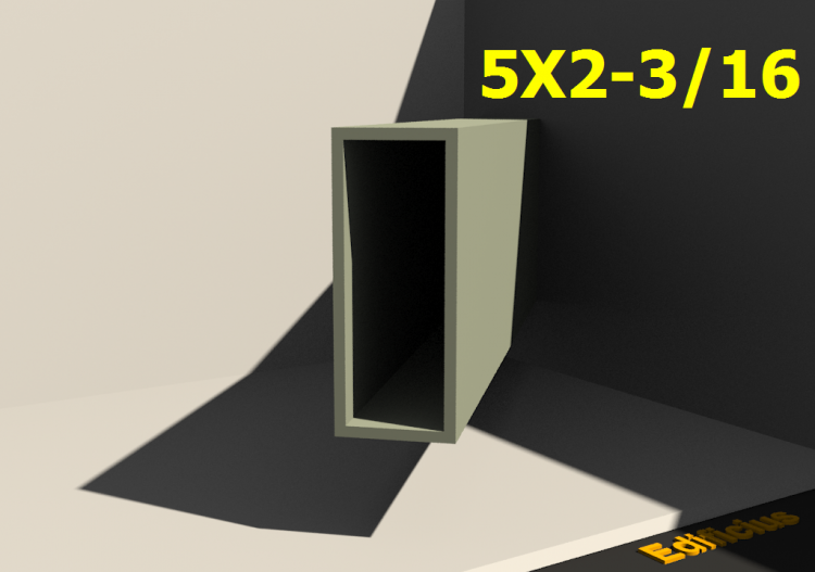 Profilati 3D - 5X2-3/16 - ACCA software