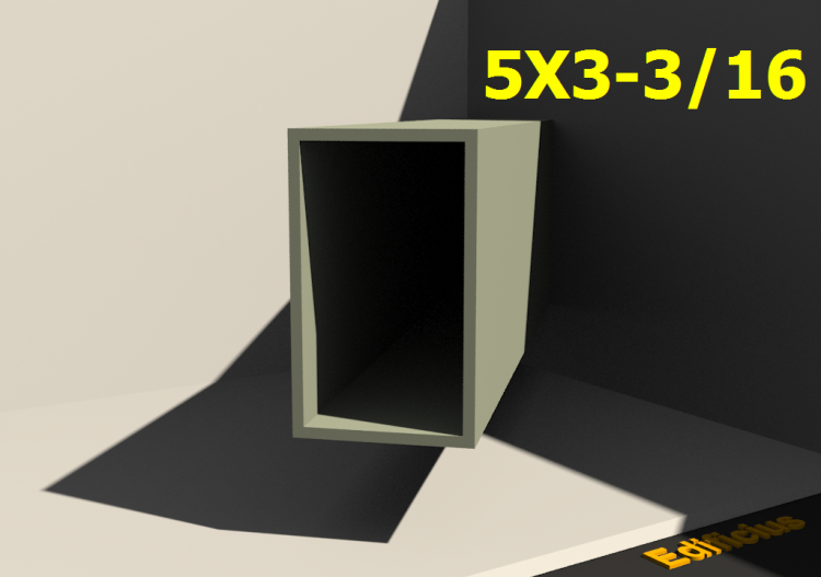 3D Profile - 5X3-3/16 - ACCA software