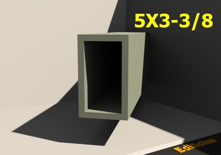 Perfilados 3D - 5X3-3/8 - ACCA software